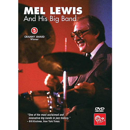 View Video Mel Lewis and His Big Band Instructional/Drum/DVD Series DVD Performed by Mel Lewis