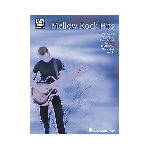 Hal Leonard Mellow Rock Hits Easy Guitar Book