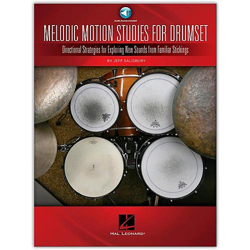 Hal Leonard Melodic Motion Studies for Drumset Book/Online Audio