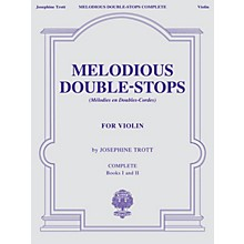 G. Schirmer Melodious Double-Stops, Complete Books 1 and 2 for the Violin String Series