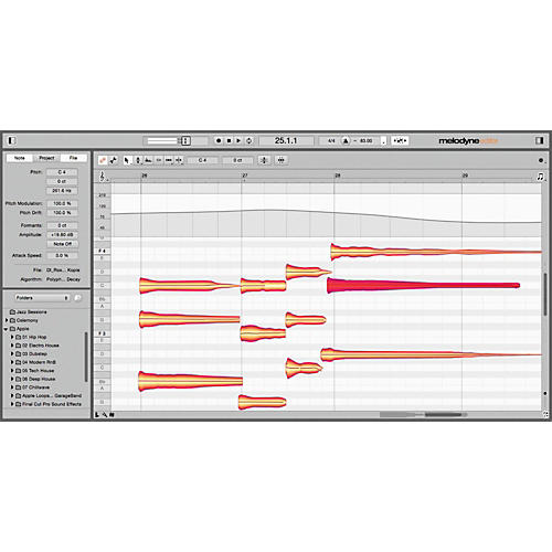 Celemony Melodyne 4 Editor - Editor Upgrade