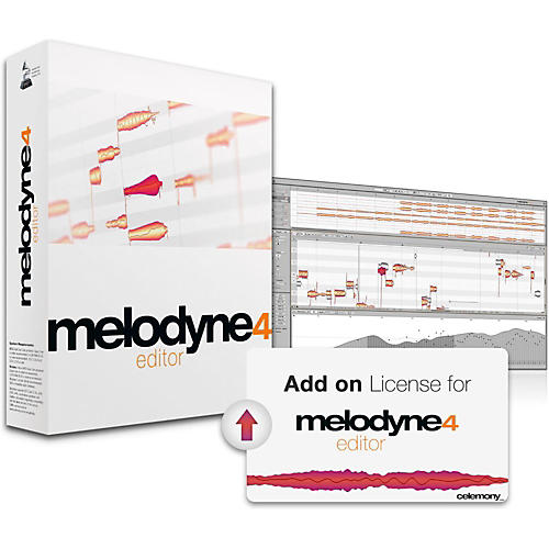 Celemony Melodyne 4 Editor Add-on License