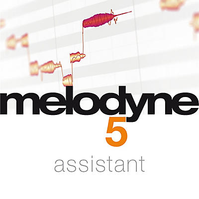 Celemony Melodyne 5 Assistant from Essential 4 (Software Download)