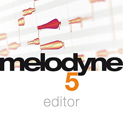 Celemony Melodyne 5 Editor from Essential 4 (Software Download)