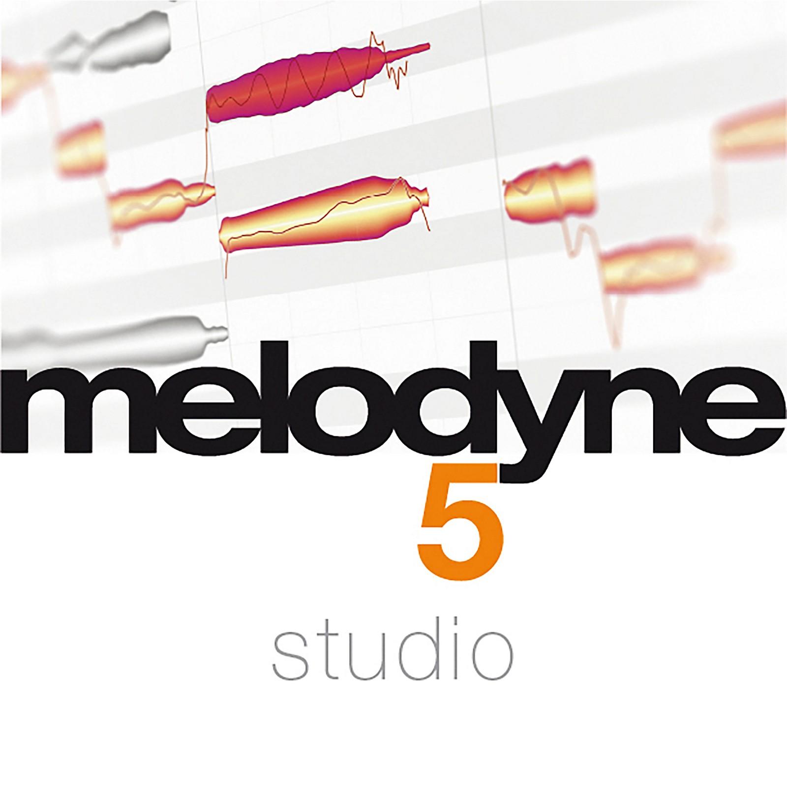 Celemony Melodyne 5 Studio from Essential 4 (Software Download)
