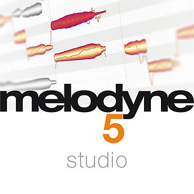 Celemony Melodyne 5 Studio from Studio 4 (Software Download)