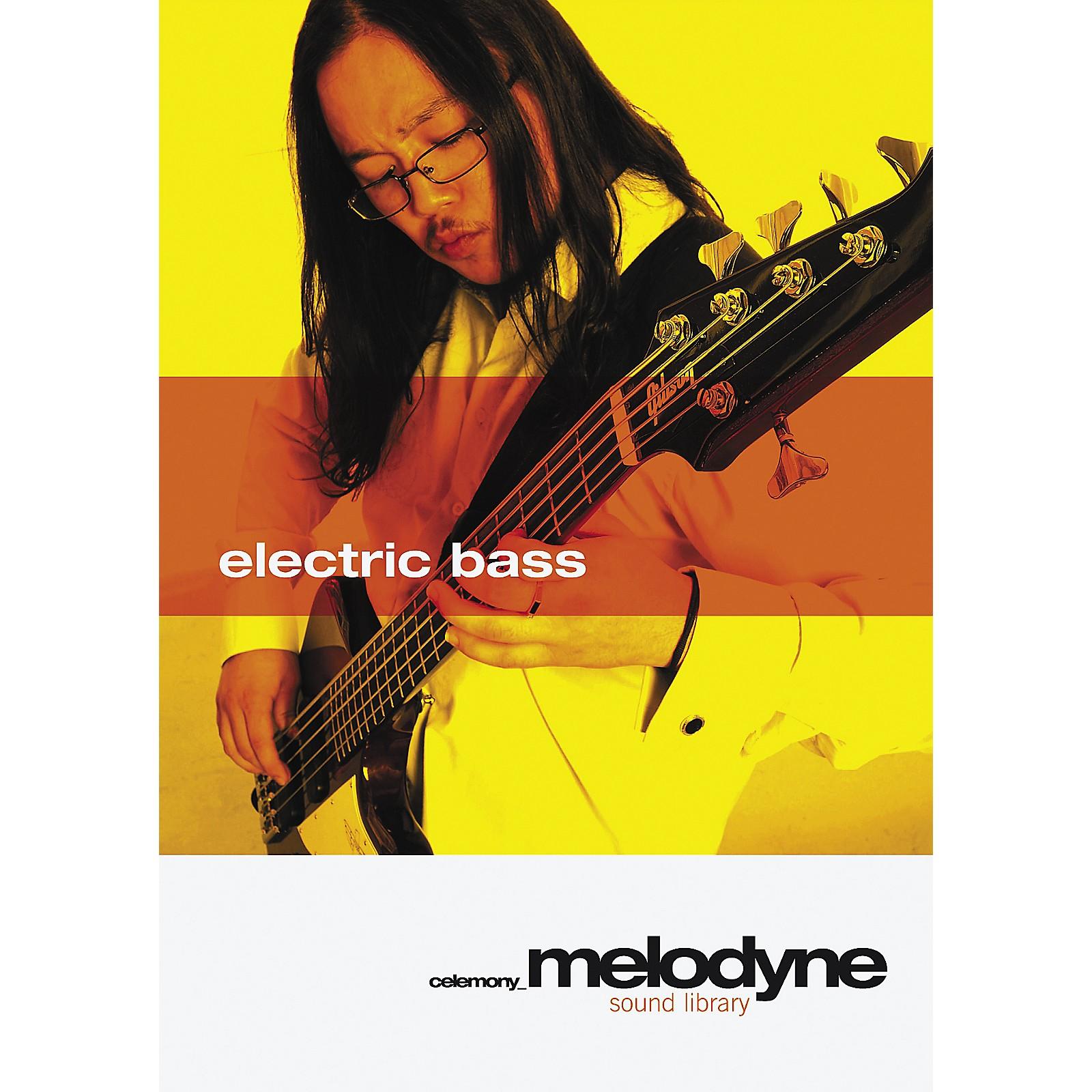 Celemony Melodyne Sound Library Electric Bass