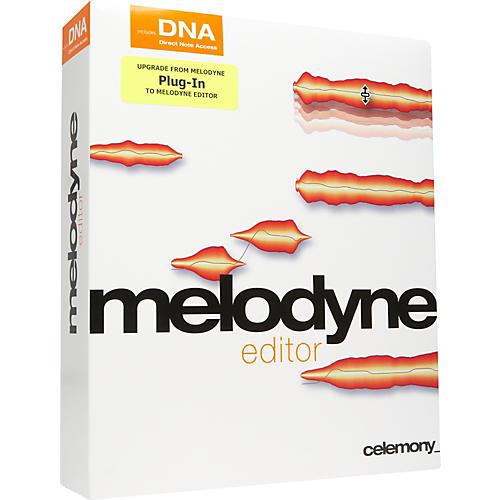 Celemony Melodyne editor Upgrade From Melodyne plugin