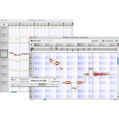 Celemony Melodyne3 Studio - Essential Upgrade for Pro Tools LE Owners