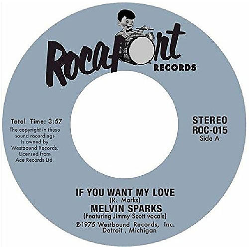Alliance Melvin Sparks - If You Want My Love / Get Down With The Get Down