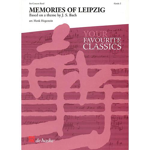 De Haske Music Memories of Leipzig Full Score Concert Band Level 2 Arranged by Henk Hogestein