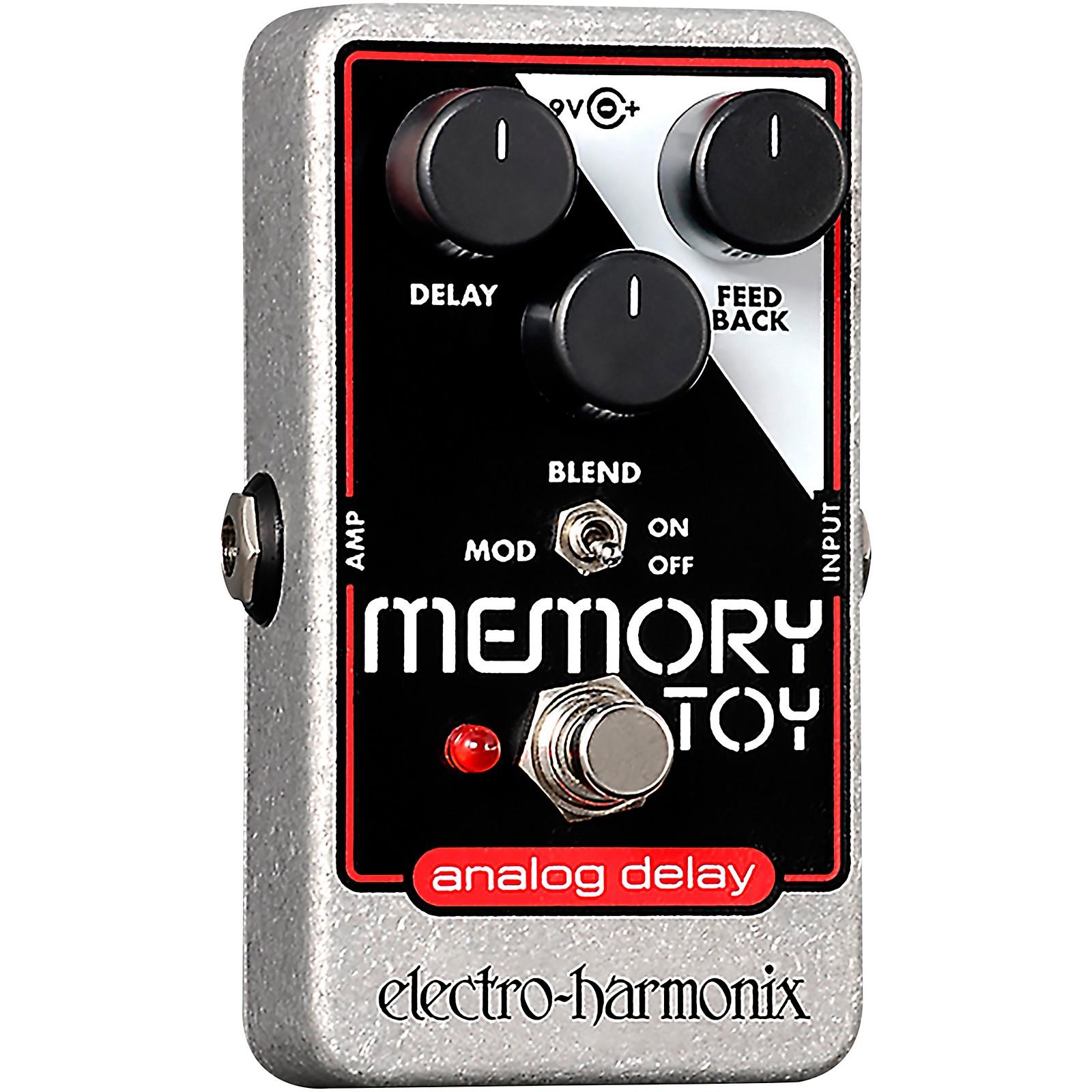 Electro-Harmonix Memory Toy Analog Echo and Chorus Guitar Effects Pedal