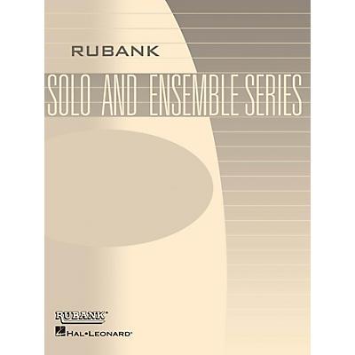 Rubank Publications Men About Town (Trombone Trio with Piano - Grade 2.5) Rubank Solo/Ensemble Sheet Series