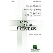 Hal Leonard Men Sing at Christmas TTBB A Cappella arranged by John Leavitt