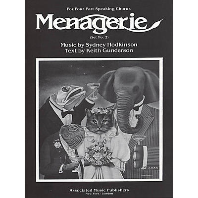 Associated Menagerie (Set No. 2) (SATB) SATB composed by Sydney Hodkinson