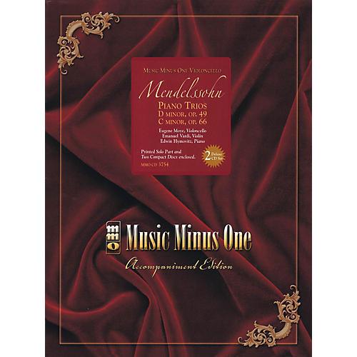 Music Minus One Mendelssohn - Piano Trios: D minor, Op. 49; C mninor, Op. 66 Music Minus One BK/ CD by Mendelssohn