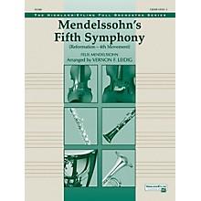 "Alfred Mendelssohn's 5th Symphony ""Reformation,"" 4th Movement Concert Orchestra Grade 3 Set"