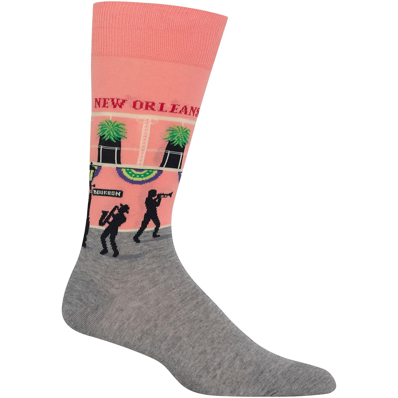 Hot Sox Men's New Orleans Socks