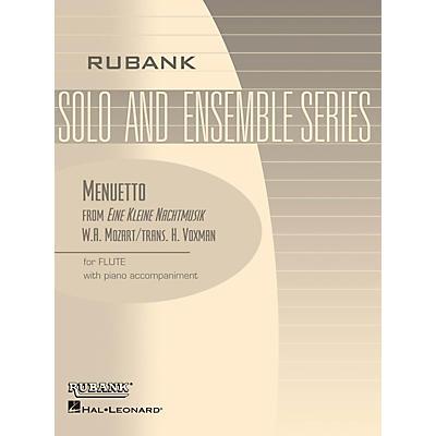 Rubank Publications Menuetto from Eine Kleine Nachtmusik Rubank Solo/Ensemble Sheet Series Softcover