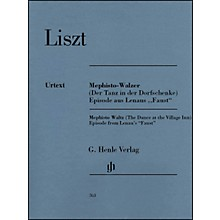 G. Henle Verlag Mephisto Waltz Piano Solo By Liszt