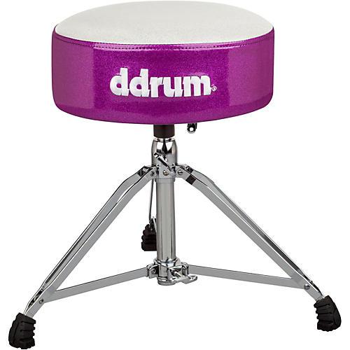 ddrum Mercury Fat Throne White Purple Sparkle