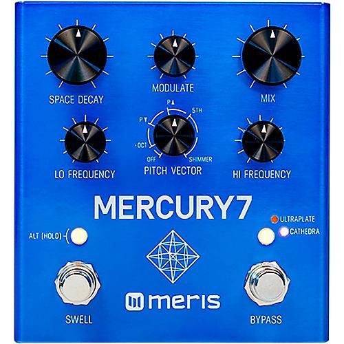 Meris Mercury7 Reverb Effects Pedal