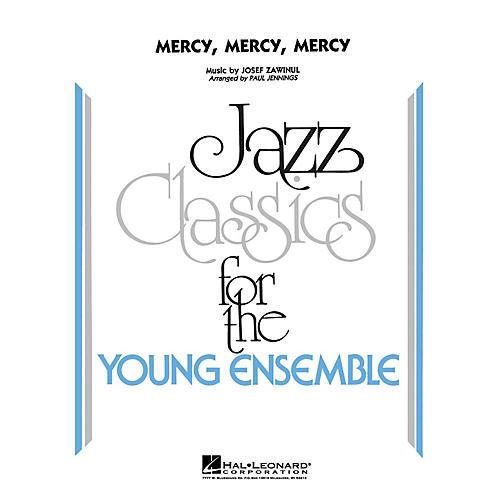 Hal Leonard Mercy, Mercy, Mercy - Jazz Ensemble Jazz Band Level 3 Arranged by Jennings