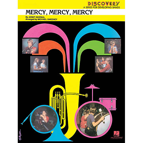 Hal Leonard Mercy, Mercy, Mercy Concert Band Level 1.5 Arranged by Michael Sweeney