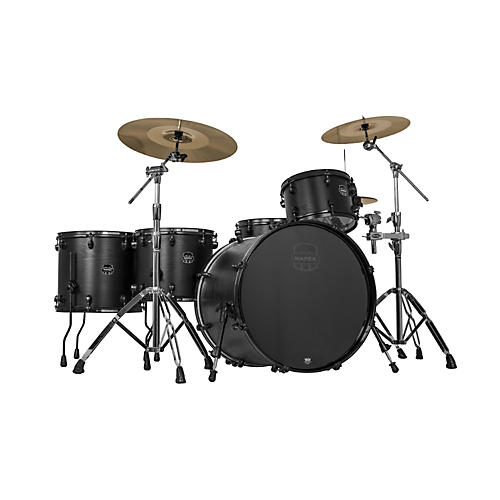 Mapex Meridian Black Raven Limited Edition 5-Piece Shell Pack