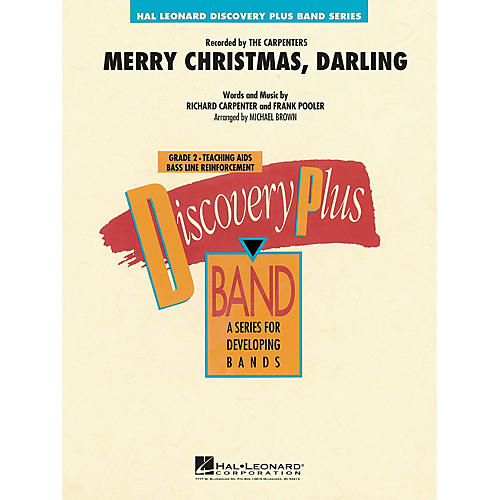 Hal Leonard Merry Christmas, Darling - Discovery Plus Concert Band Series Level 2 arranged by Michael Brown
