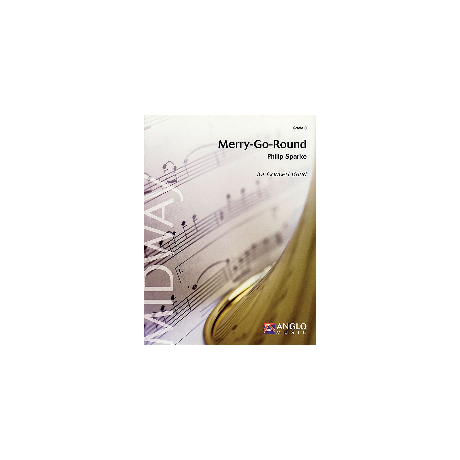 Anglo Music Press Merry-Go-Round (Grade 3 - Score Only) Concert Band Level 3 Composed by Philip Sparke