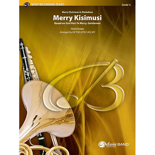 Alfred Merry Kisimusi Concert Band Grade 0.5