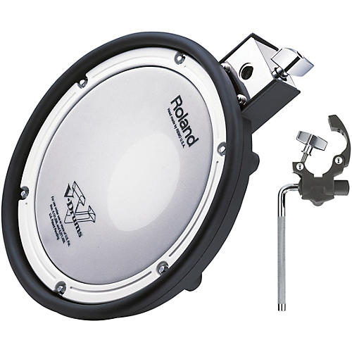 roland mesh head percussion pack add on mesh head pad with mount musician 39 s friend. Black Bedroom Furniture Sets. Home Design Ideas