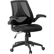 Open Box SAUDER WOODWORKING CO. Mesh Managers Office Chair Black
