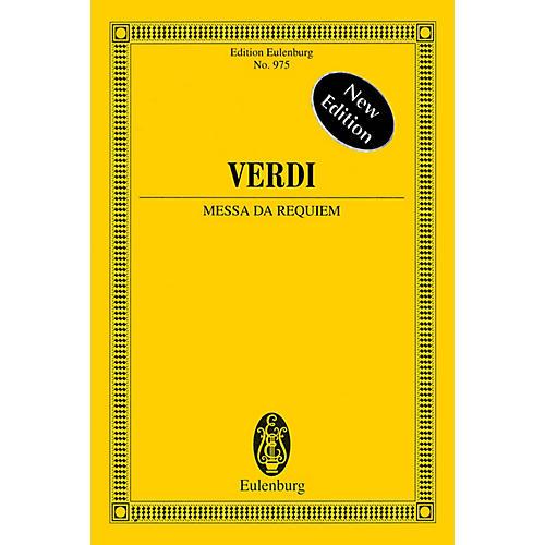 Eulenburg Messa da Requiem - New Edition Study Score Composed by Giuseppe Verdi Arranged by Fritz Stein