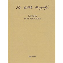 Ricordi Messa in re maggiore Critical Edition Full Score, Hardbound with Commentary Hardcover by Pergolesi