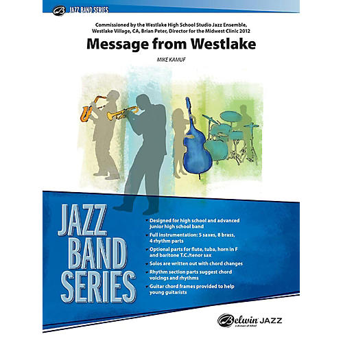Alfred Message from Westlake Jazz Band Grade 3 Set