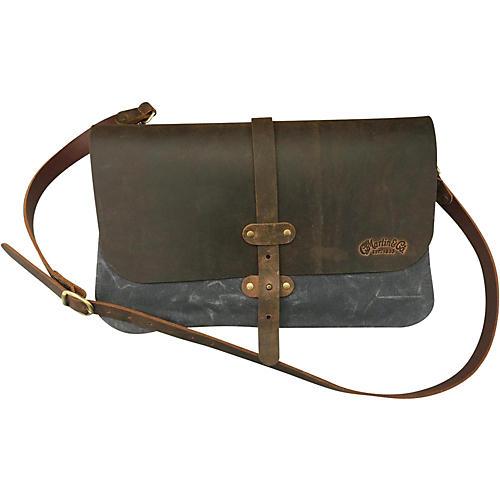 Martin Messenger Bag 3 Panel Canvas/Leather