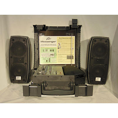 Peavey Messenger M100 Portable Sound System Sound Package