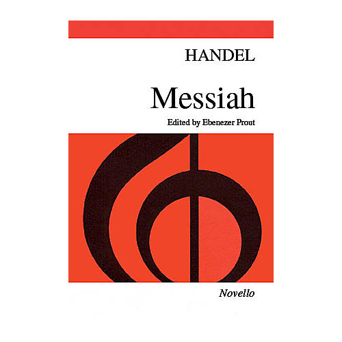 Novello Messiah (Paperback Edition) SATB Composed by George Frideric Handel