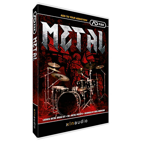 Waves Metal ADpak ADpak Addictive Drums Expansion Pack