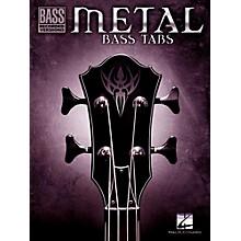 Hal Leonard Metal Bass Tabs