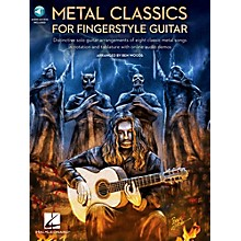 Hal Leonard Metal Classics For Fingerstyle Guitar (Book/Online Audio)