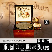 Three-Body Tech Metal Comb Music Boxes