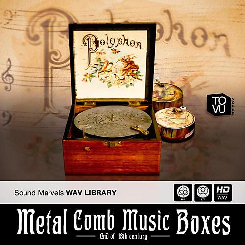 Three-Body Tech Metal Comb Music Boxes