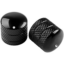 Metal Dome Control Knob 2 Pack Black