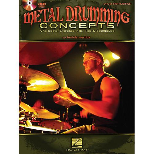 Hal Leonard Metal Drumming Concepts: Vital Beats, Exercises, Fills, Tips & Techniques Book/DVD