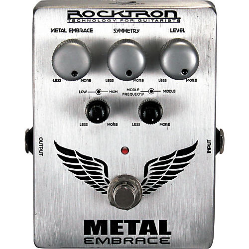 rocktron metal embrace distortion guitar effects pedal musician 39 s friend. Black Bedroom Furniture Sets. Home Design Ideas