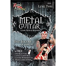 Hal Leonard Metal Guitar - Leads, Runs & Rythyms Level 2, Featuring Dan Jacobs (DVD)