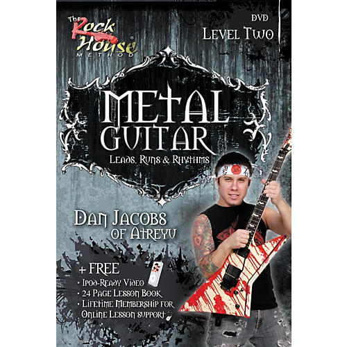 Hal Leonard Metal Guitar - Leads, Runs & Rythyms Level 2, Featuring Dan Jacobs (DVD)
